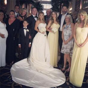 Sofía Vergara y Joe Manganiello cogen ideas para su boda en la de unos amigos