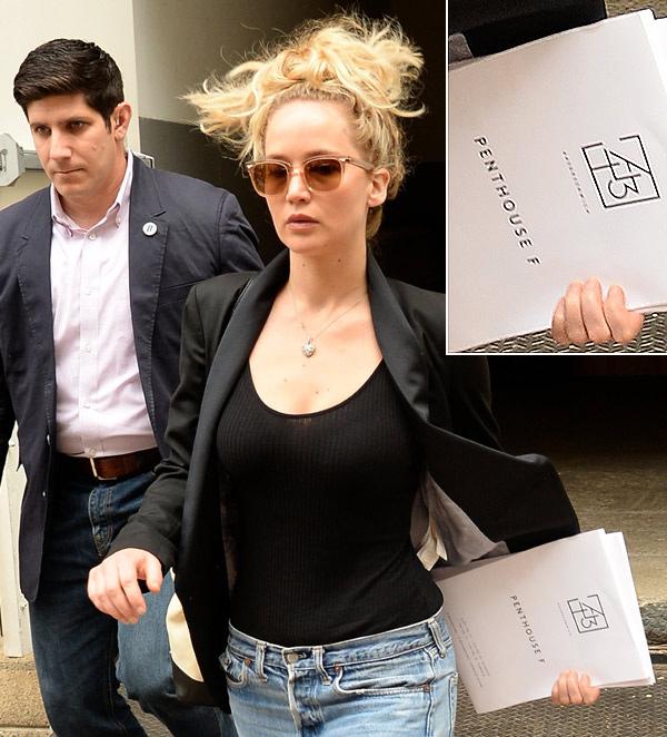 Jennifer Lawrence busca piso, pero no le vale cualquiera... Lo quiere cerca del de Gwyneth Paltrow