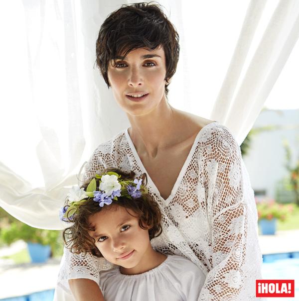 Exclusiva en ¡HOLA!: Paz Vega, las vacaciones en Ibiza de una familia de película