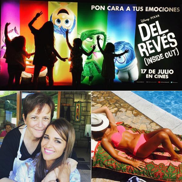 Las felices vacaciones de Paula Echevarría en la 'tierrina'