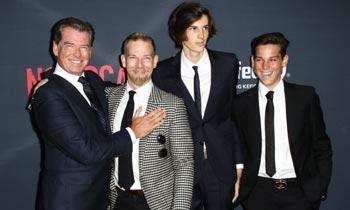 Seductor, carismático y todo un padrazo, te presentamos a los hijos de Pierce Brosnan