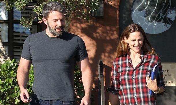 Ben Affleck y Jennifer Garner, todo sonrisas tras su visita a un consejero matrimonial