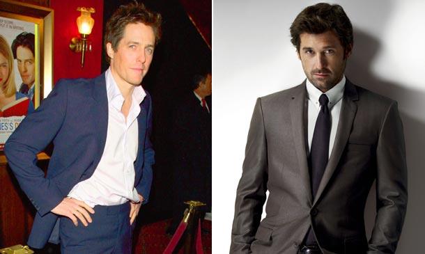Patrick Dempsey le arrebata el puesto de seductor a Hugh Grant en Bridget Jones: ¿con quién te quedas?