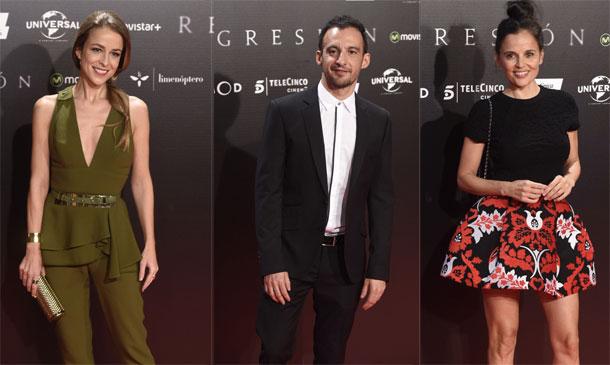 Belén Rueda, Silvia Abascal, Eduardo Noriega... nadie se perdió el regreso de Alejandro Amenábar