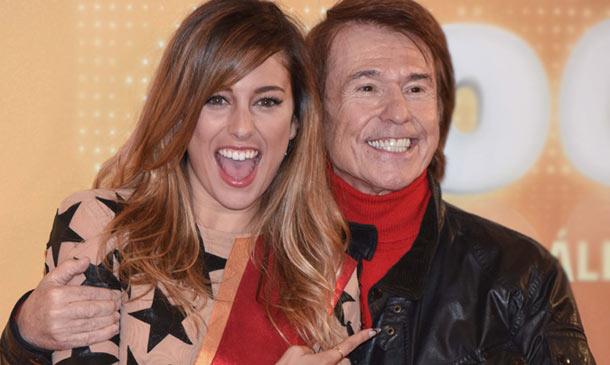 Blanca Suárez y Raphael o el buen rollo de dos estrellas 'encantadas de haberse conocido'