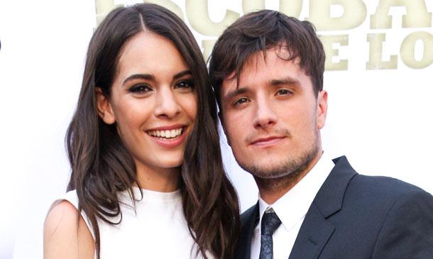 Josh Hutcherson, protagonista de 'Los Juegos del Hambre', revela cómo lleva la relación a distancia con la española Claudia Traisac