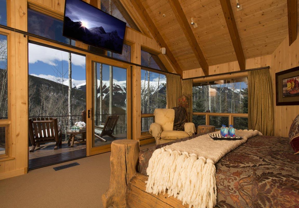 Melanie griffith vende su casa al m s puro estilo de - Camere da letto di montagna ...