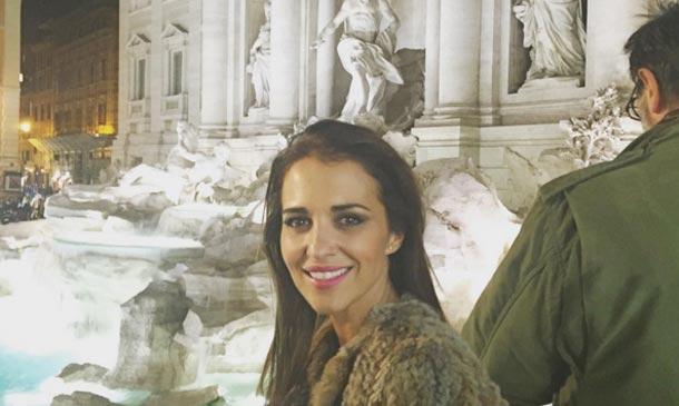 Paula Echevarría y sus divertidas 'Vacaciones en Roma'
