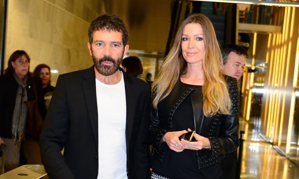 ¿Qué hicieron Antonio Banderas y Nicole Kimpel durante su visita relámpago a Barcelona?