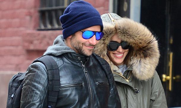 Irina Shayk y Bradley Cooper, ¡el frío en pareja se lleva mucho mejor!