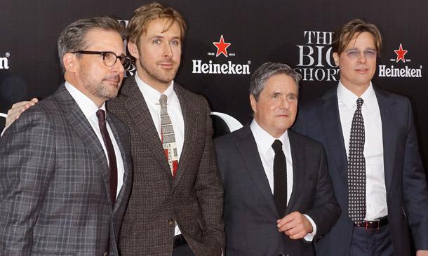 Brad Pitt o Ryan Gosling, juntos en la alfombra roja ¿por quién suben las apuestas?