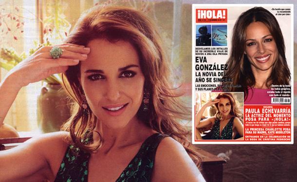Exclusiva: Paula Echevarría, la actriz del momento posa para ¡HOLA!