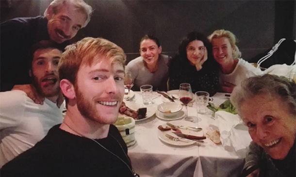 Los Alcántara y uno más, una familia unida dentro y fuera del plató