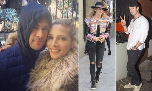 Elsa Pataky y Chris Hemsworth, de Madrid a Nueva York: sus paradas 'de incógnito'