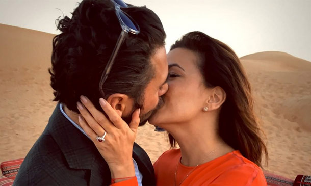 ¡Sorpresa! Eva Longoria se ha comprometido con su novio Pepe Bastón en Dubái