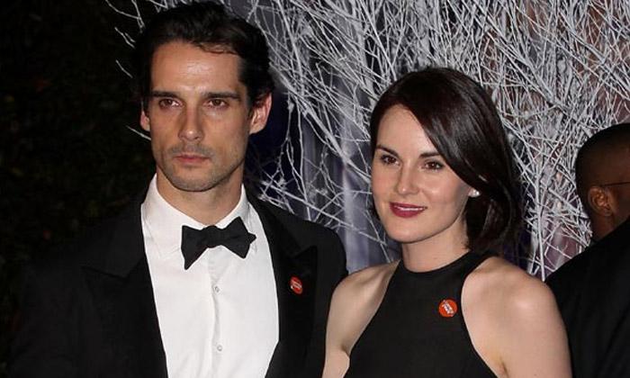 El emotivo recuerdo de Michelle Dockery ('Downton Abbey') a su prometido John Dineen en su funeral