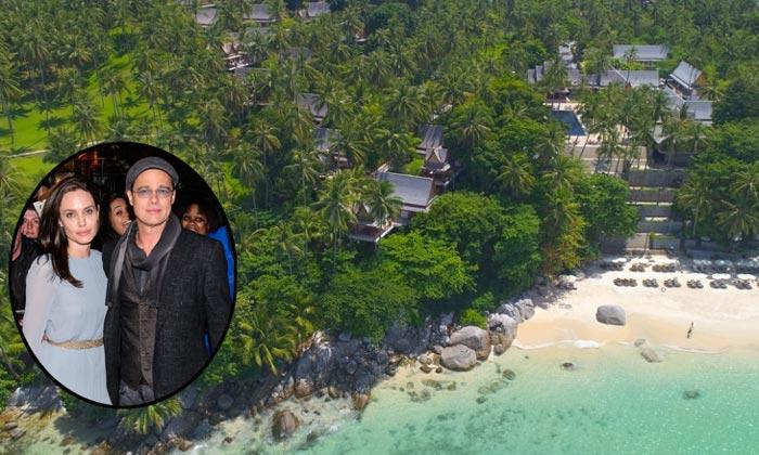¿Cómo es el lujoso y paradisíaco resort tailandés donde Brad Pitt y Angelina Jolie despiden el año?