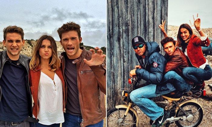 ¡Luces y acción! El divertido rodaje de Ana de Armas con Scott Eastwood