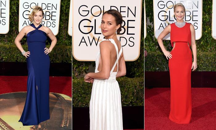 Las estrellas pasean su 'glamour' por la alfombra roja de los Globo de Oro 2016