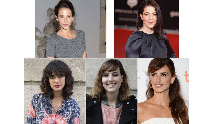 Natalia, Penélope, Inma, Nora e Irene, el primer cara a cara del cine español en los Premios Feroz