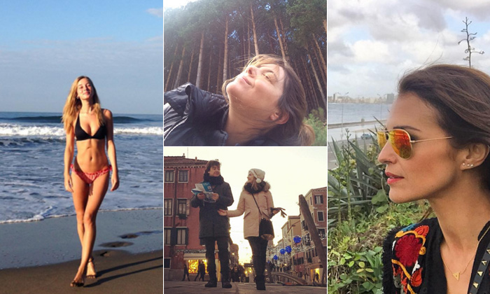 Exóticas, románticas... así son las vacaciones de invierno de las chicas 'Velvet'