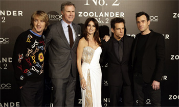 ¿Se atrevió Penélope Cruz a imitar la 'mirada azul' en el estreno de 'Zoolander 2'?