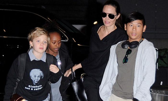 Shiloh, una maestra en aprovechar la expectación que generan los Jolie-Pitt