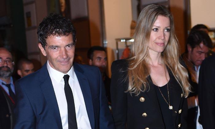 Antonio Banderas y Nicole Kimpel celebran las tradiciones malagueñas