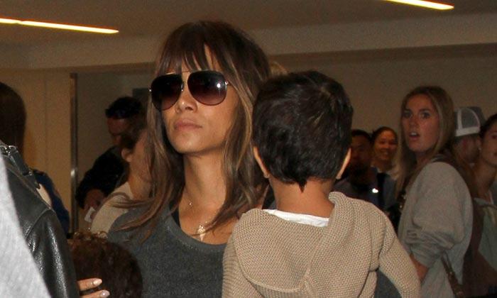 Las vacaciones familiares de Halle Berry y Olivier Martínez, seis meses después de su divorcio