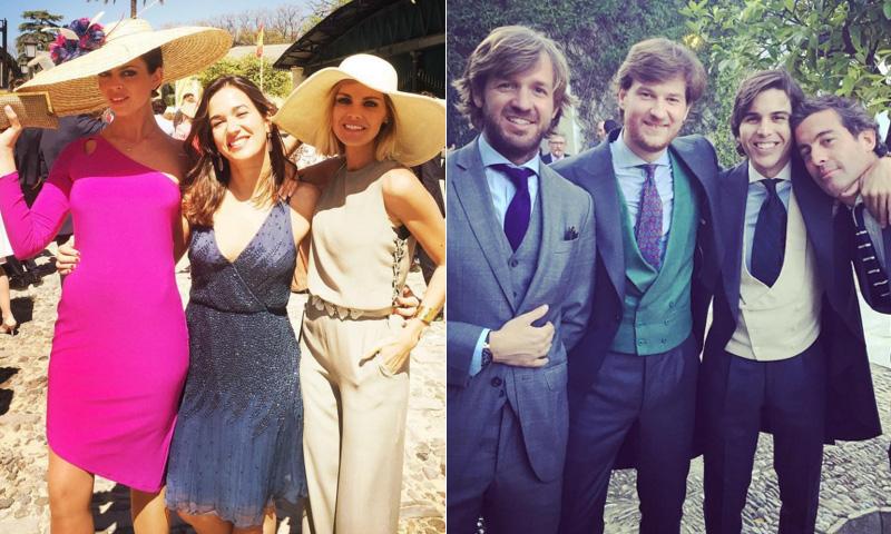 Amaia Salamanca y Rosauro Varo, de una boda... ¿sale otra?