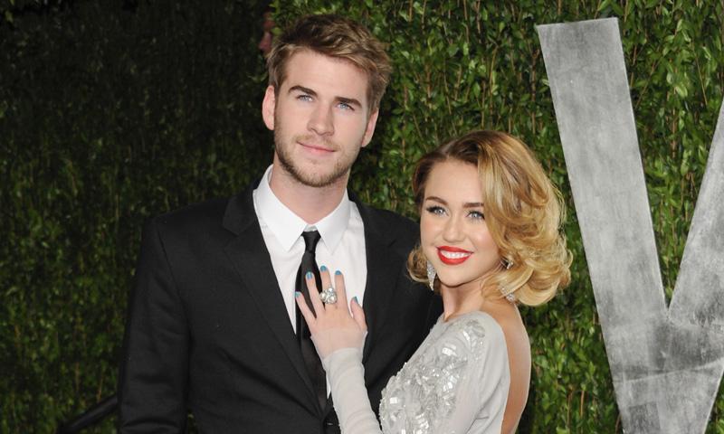 Miley Cyrus, una más en la familia de Liam Hemsworth