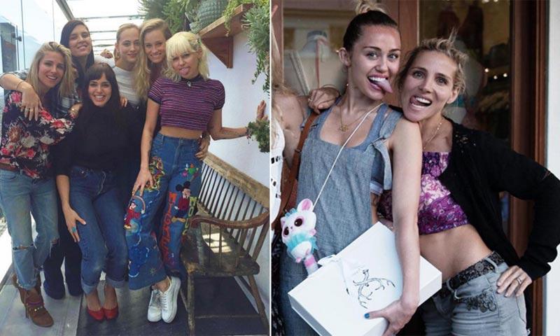 Elsa Pataky y su amiga políticamente ¿correcta?, Miley Cyrus