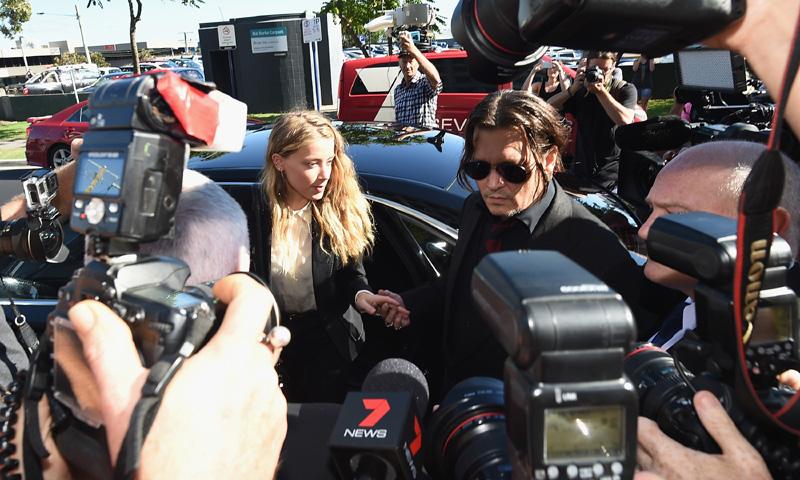 El perdón público de Johnny Depp y Amber Heard antes de conocer su condena
