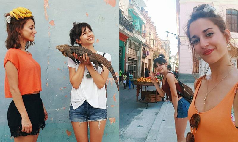 Úrsula Corberó y sus divertidas vacaciones en Cuba con Silvia Alonso