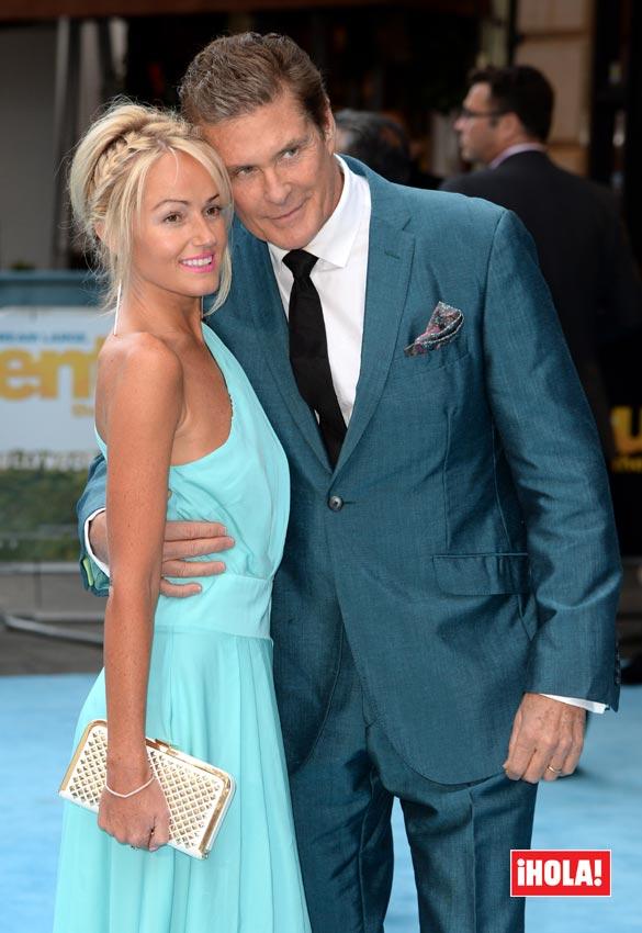 Exclusiva mundial en HELLO!, David Hasselhoff se compromete con su novia, 27 años más joven