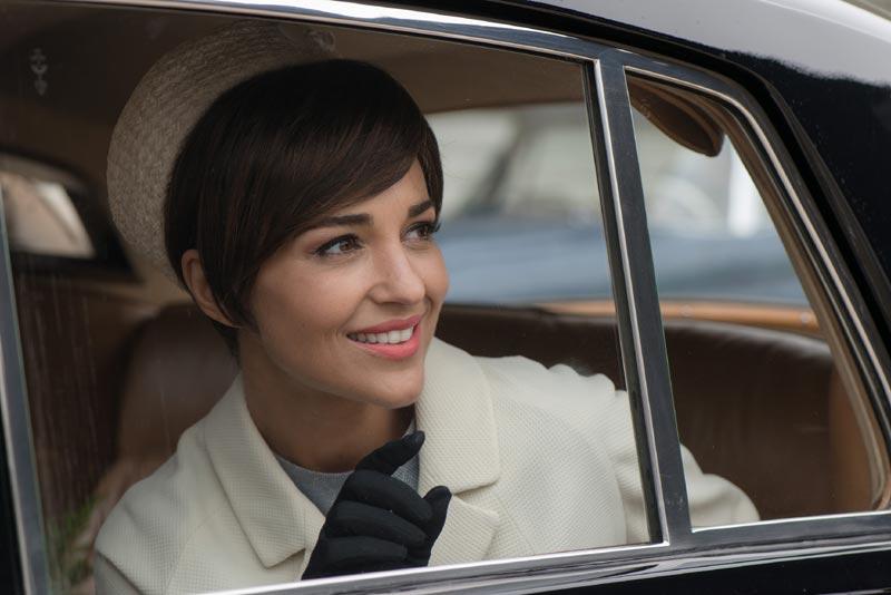 Paula Echevarría desvela el porqué de su nuevo 'look' en 'Velvet'