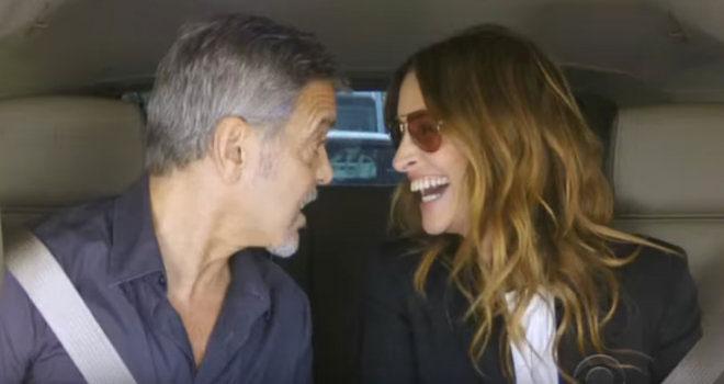 El divertido vídeo del porqué Clooney y Roberts se dedicaron al cine y no a la música