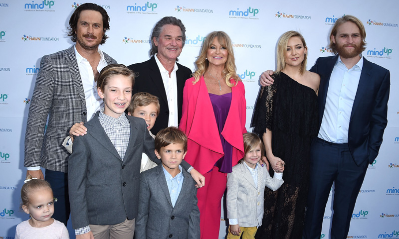 ¡La familia al completo! El posado más especial de Goldie Hawn