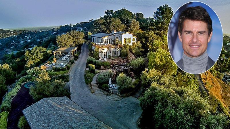 ¡Vendida por 35 millones de euros! Conozca la mansión que Tom Cruise compartió con Katie Holmes en Beverly Hills