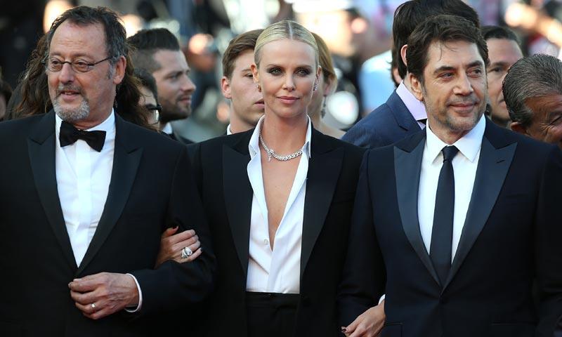 Cannes un año después: la imagen más esperada de Charlize Theron y Sean Penn