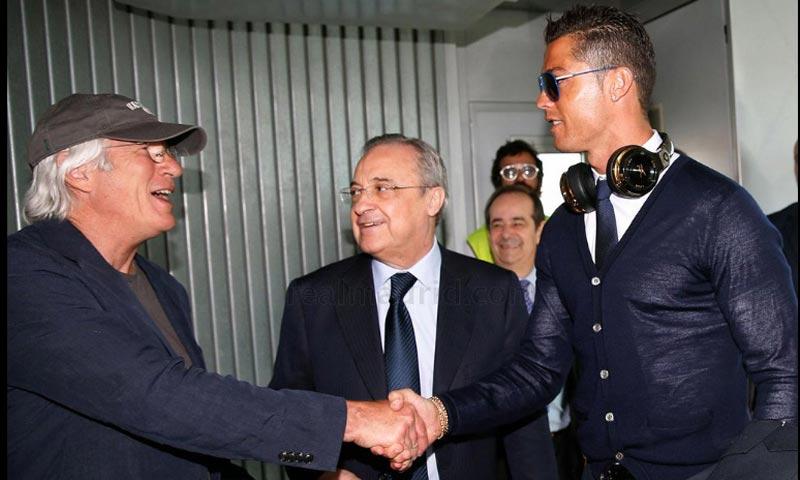 Richard Gere se suma a la locura por la Champions y viaja con el Real Madrid a Milán