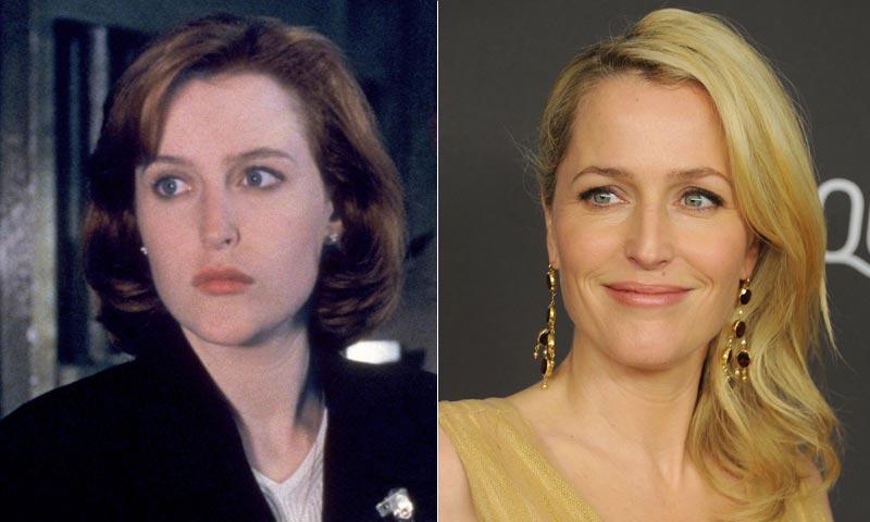La nueva y renovada imagen de Gillian Anderson 22 años después de 'Expediente X'
