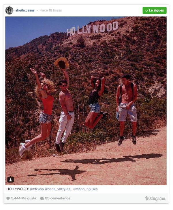 Hollywood And All That: Mario Casas Y Berta Vázquez, Próxima Parada... ¡Hollywood