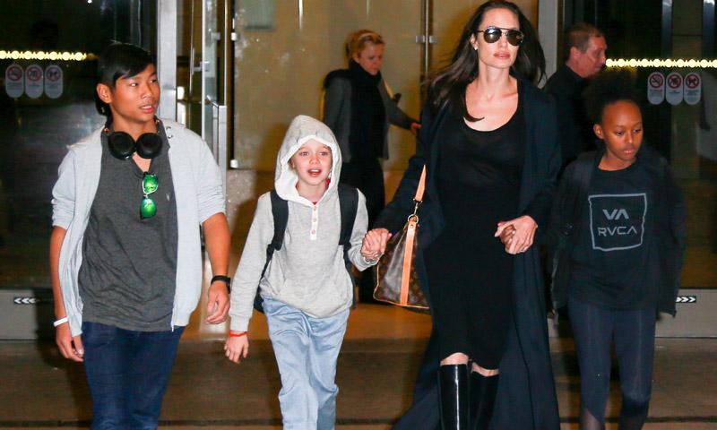 Sus aficiones, los idiomas que aprenden... así de orgullosa habla Angelina Jolie de sus hijos