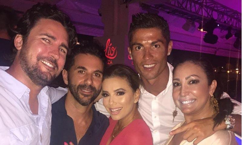 ¿Qué hacían Eva Longoria y Cristiano Ronaldo juntos?
