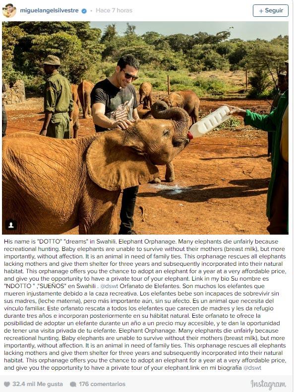 ¡Saca su lado más divertido! La nueva causa africana de Miguel Ángel Silvestre