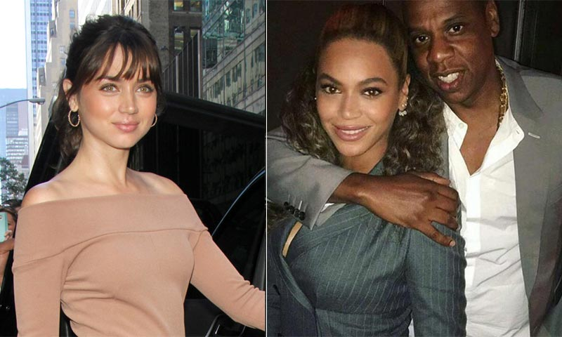 Ana de Armas se 'codea' con Beyoncé en Hollywood
