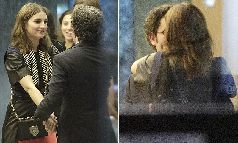María Valverde, 'loca' de amor por Gustavo Dudamel