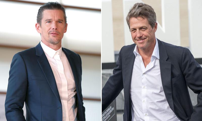 ¡Abran paso a los seductores de Hollywood! Hugh Grant y Ethan Hawke revolucionan San Sebastián