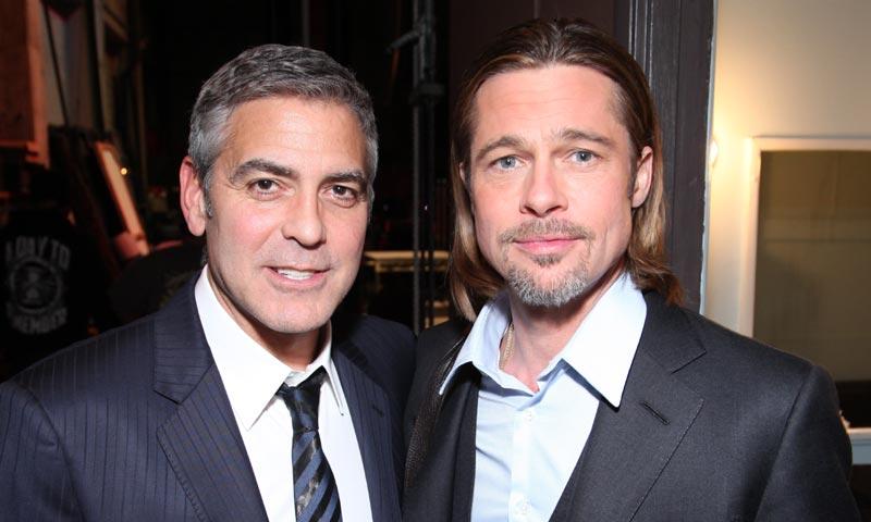 Así reaccionó George Clooney al enterarse del divorcio de su buen amigo Brad Pitt
